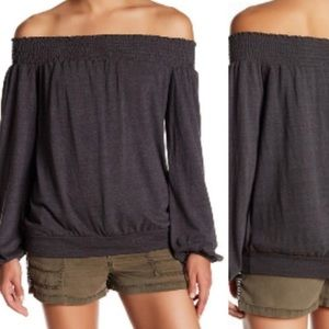 Pam & Gela Off the Shoulder Top